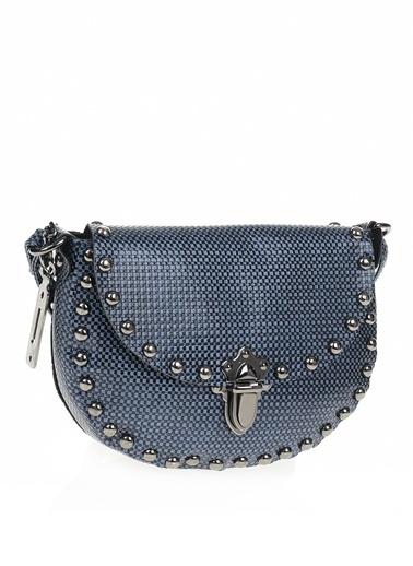 İnci Çanta Mavi